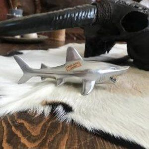 Other - New! PEWTER Large Great White Shark Bottle Opener